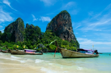 Railay Bay, Thailand.
