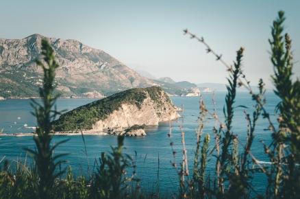 Sveti Nikola Island, Montenegro.