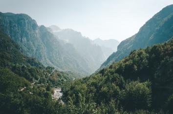 Thethi, Albania.