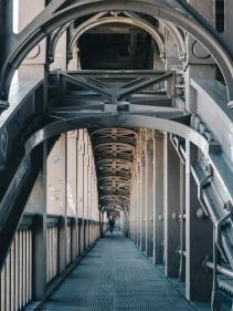 High Level Bridge, Newcastle, England.