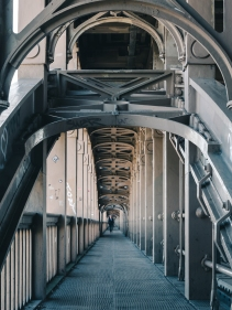 High Level Bridge, Newcastle, England.